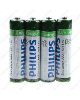 Батарейка Philips R-03