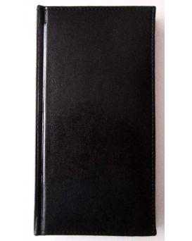 Алфавитная книга с регистром 112 л., «Sarif» цвет черный.