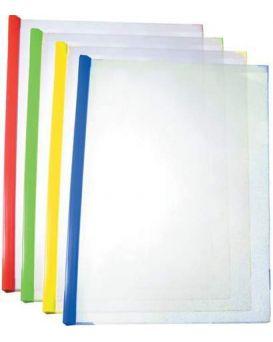 Папка А4 с планкой - зажимом 2 - 35 листов, в ассортименте