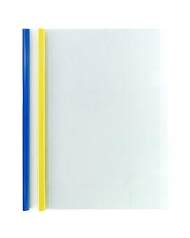 Папка А4 с планкой - зажимом 2 - 95 листов, в ассортименте, Economix