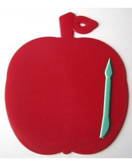 Дощечка для пластилина «Яблоко» стек