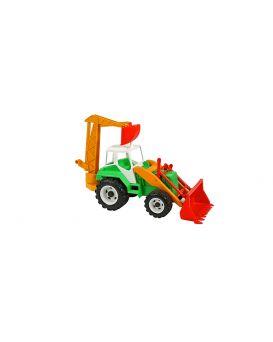 Автомобиль Орион «Трактор погрузчик» в сетке 68х28,5х31 см