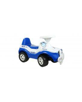 Толокар машина для катания «Джипик» синяя, 61х28х36 см, ТМ Орион