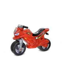 Толокар «Мотоцикл» 2-х колесный, красный, 68х28,5х47 см, ТМ Орион