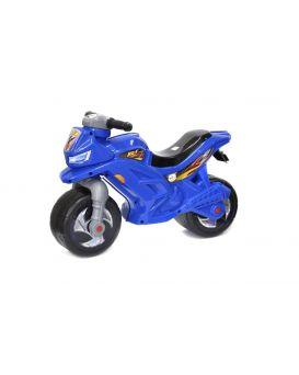Толокар «Мотоцикл» 2-х колесный, синий, 68х28,5х47 см, ТМ Орион