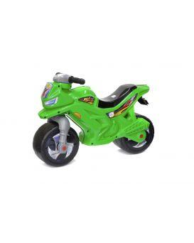Толокар «Мотоцикл» 2-х колесный, зеленый, 68х28,5х47 см, ТМ Орион