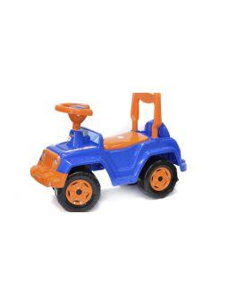 Толокар машина для катания «4х4» 68х27,5х48,5 см, синяя, ТМ Технок