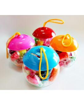 Набор тесто для лепки 12 цветов «Твори ярко» в пластиковой банке 168 гр.