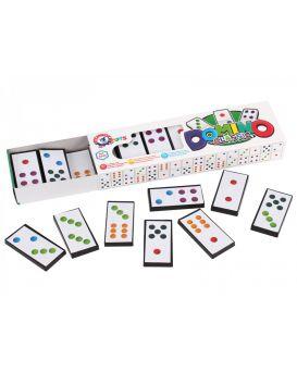 Домино «Классическое» 28 фишек, в коробке 22х3х6,5 см, ТМ Технок
