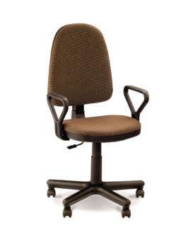 Кресло поворотное «Престиж» цвет - коричневый, Новый Стиль