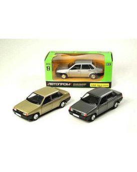 Автомобиль металлический АВТОПРОМ на батарейке, свет, звук, двери открываются, в кор. 24,5х12,5х10