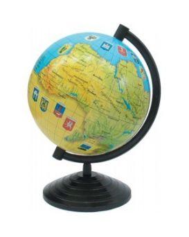 Глобус Украины 16 см