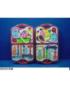Набор «Доктор» медицинские инструменты, стетоскоп, градусник, в ассортименте, в чемодане 40х23х4 см