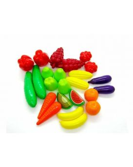 Набор «Фрукты - Овощи» 24 предмета в упаковке, ТМ Орион