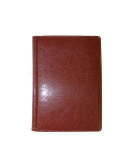 Ежедневник датированный А5, 168 л., 142 х 203 мм «Sarif» кр.-коричневый.