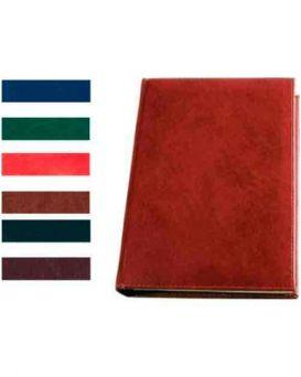 Алфавитная книга с регистром 112 л., «Sarif» цвет красно коричневый.