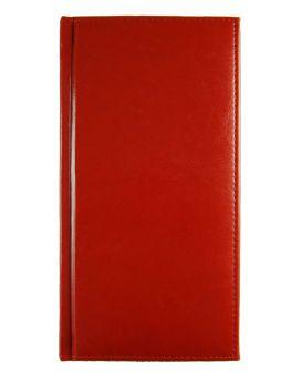 Алфавитная книга с регистром 112 л., «Sarif» цвет красный.