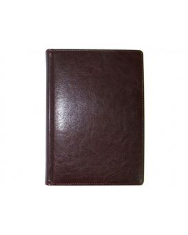 Ежедневник датированный А5, 168 л., 142 х 203 мм «Sarif» бордо.