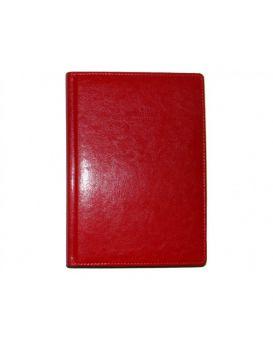 Ежедневник датированный А5, 184 л., 142 х 203 мм «Sarif» красный.