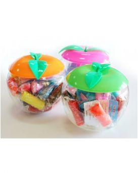 Набор тесто для лепки 12 цветов «Твори ярко» в пластиковой упаковке - яблоко, 240 гр, ТК452