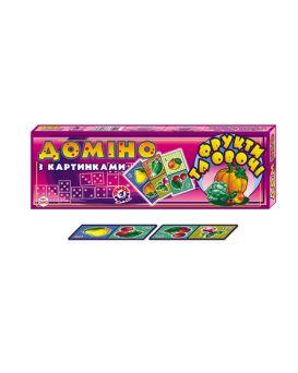 Домино «Фрукты и овощи» ТМ Технок