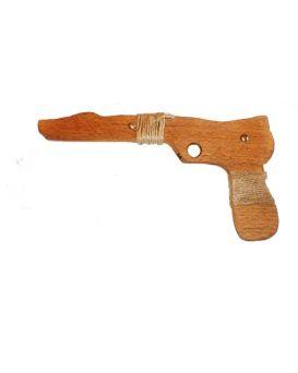 Пистолет деревянный из бука 26 см, Дерево ТМ