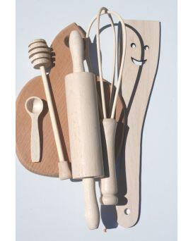 Кухонный набор для юной хозяйки №2 К01215 6 предметов 15*22см ТМ Дерево
