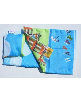 Набор «Постельный» для кукольной кроватки 25х45 см, 3 предмета: одеяло, подушка, простыня, ТМ Дерево