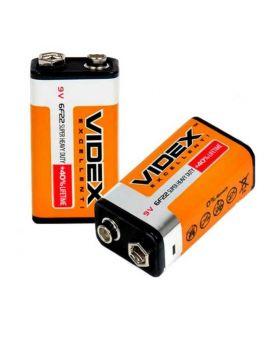 Батарейка Videx 6F22 (крона)