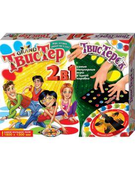 Игра напольная «Твистер Гранд 2 в 1 плюс Твистерок» ТМ Данко Тойс