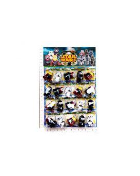 Герои мультфильма «STAR WARS» миньоны 20 шт. на планшете