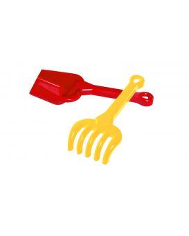 Набор для игры с песком лопатка и грабельки, ТМ Технок