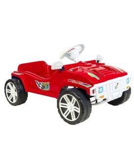 Машинка для катания педальная красная 792 ТМ Орион