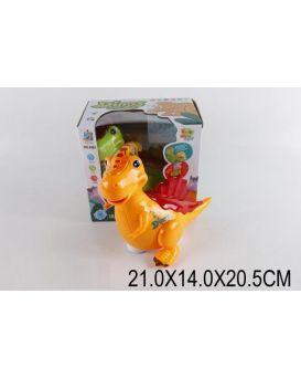 Динозаврик на батарейке, музыкальный, в ассортименте, в коробке 21х14х20,5 см