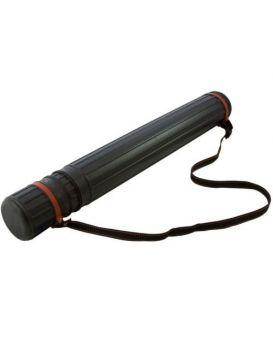 Тубус для чертежей D-8.5 (60*110см) черный, JL-HT-604