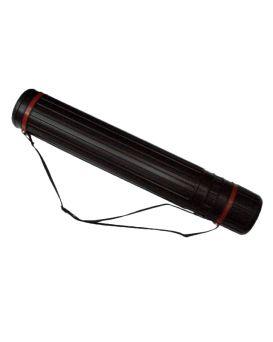 Тубус для ватмана d 10,5 см, 65х110 см, черный