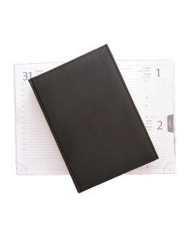 Ежедневник датированный А5, 168 л., 142 х 203 мм «Miradur» черный.