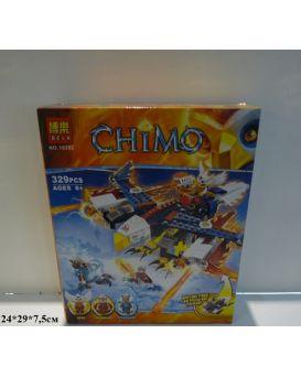 Конструктор Bella «Chimo» 329 деталей, в коробке 29х7,5х24 см