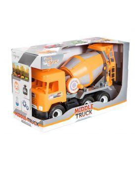 Автомобиль WADER Бетономешалка City Middie truck