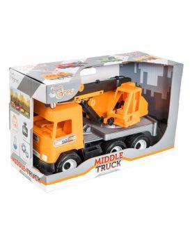Автомобиль WADER Подъемный кран City, Middie truck