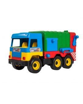 Автомобиль WADER Мусоровоз Middle truck 42х22х18 см