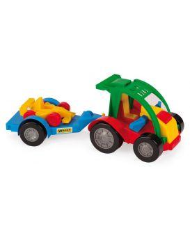 Автомобиль WADER Авто - Багги с прицепом 39х15,5х13 см