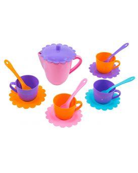 Набор посуды «Ромашка» на 4 персоны с чайником, ТМ Тигрес