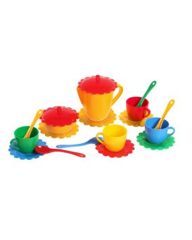 Набор посуды «Ромашка» на 4 персоны, большой, ТМ Тигрес
