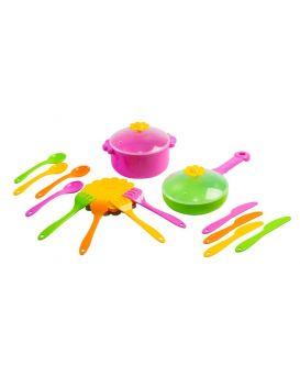 Набор посуды «Ромашка» 20 предметов, ТМ Тигрес