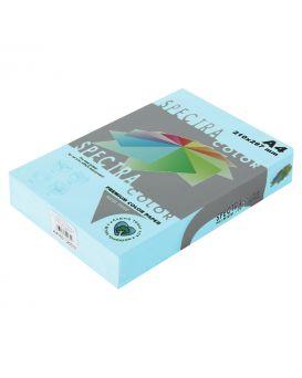 Бумага цветная А4 250 листов, 160 гр/м2, пастель - голубой «Ocean 120» SPECTRА COLOR