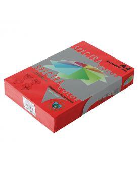 Бумага цветная А4 500 листов, 80 гр/м2, интенсив - красный «Red 250» SPECTRA COLOR