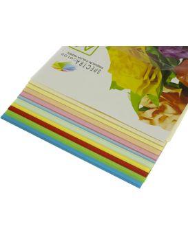 Бумага цветная А4 100 листов, 80 гр/м2, супер микс, 10х10 «Rainbow Pack» SPECTRA COLOR