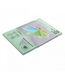 Бумага цветная А4 100 листов, 80 гр/м2, пастель - зеленый «Green 190» SPECTRA COLOR