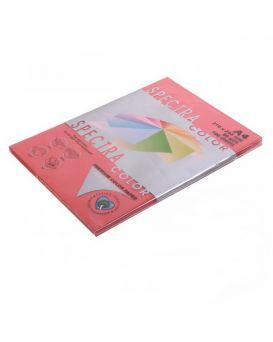 Бумага цветная А4 100 листов, 80 гр/м2, интенсив - красный «Red 250» SPECTRA COLOR